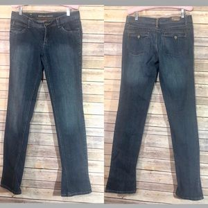 ELEMENT denim flare bottom only faded wash jeans 7